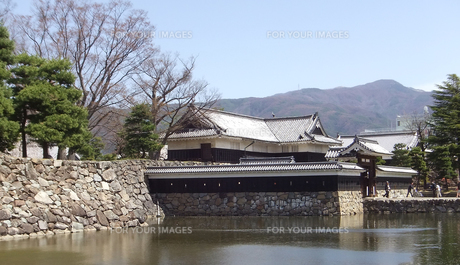 国宝 松本城-4の写真素材 [FYI00243149]