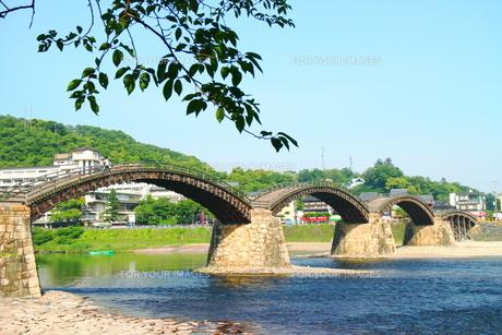 岩国市の錦帯橋2の素材 [FYI00243253]