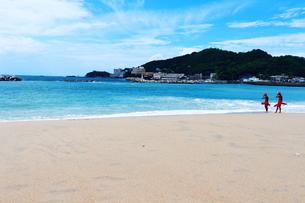 和歌山の片男波海水浴場4の素材 [FYI00243280]