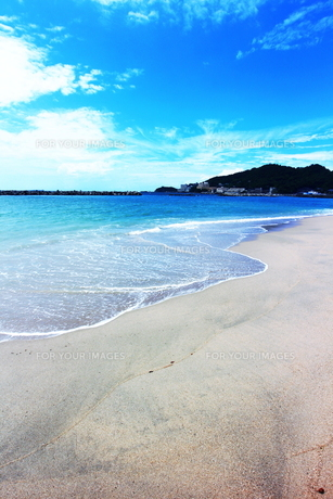 和歌山の片男波海水浴場1の素材 [FYI00243284]