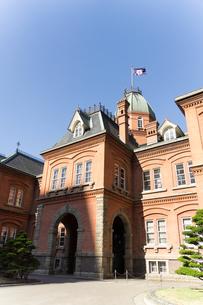 赤レンガ庁舎の写真素材 [FYI00243358]