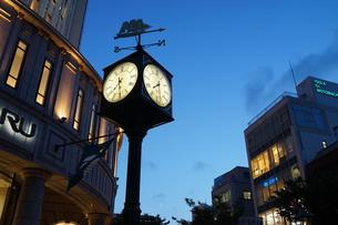 夜の神戸・元町の写真素材 [FYI00243387]