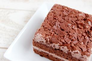 チョコレートケーキの素材 [FYI00243462]
