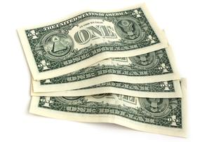 米ドル札の裏面の写真素材 [FYI00243469]