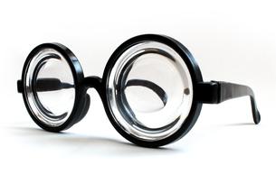 ビン底眼鏡の写真素材 [FYI00243473]