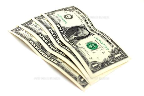 米ドル札の素材 [FYI00243493]