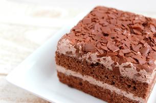 チョコレートケーキの素材 [FYI00243508]