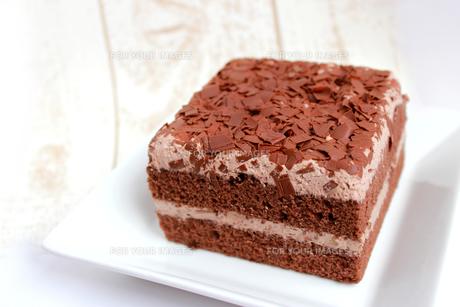 チョコレートケーキの写真素材 [FYI00243511]