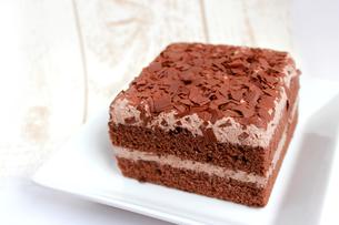 チョコレートケーキの素材 [FYI00243511]