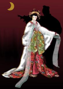 揚巻 歌舞伎の素材 [FYI00243539]