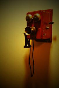 レトロ電話の写真素材 [FYI00243601]