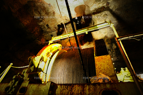 鯛生金山の立坑で使用したワイヤーロープの素材 [FYI00243628]