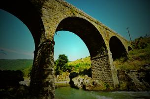 宇佐市院内の石橋の写真素材 [FYI00243645]