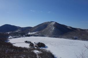 赤城山(冬)の素材 [FYI00244347]