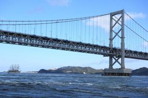 鳴門大橋の写真素材 [FYI00244381]