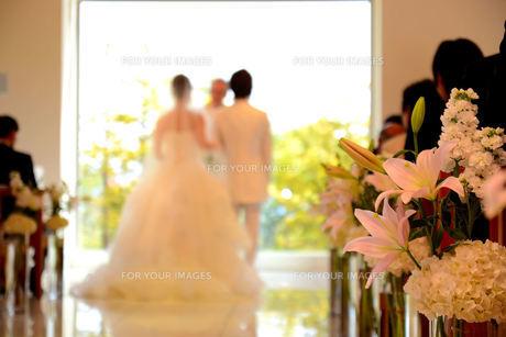 結婚式の花の写真素材 [FYI00244559]