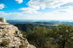山頂からの眺めの写真素材 [FYI00244599]