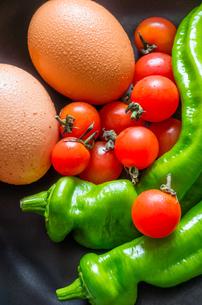 卵と野菜の素材 [FYI00244674]