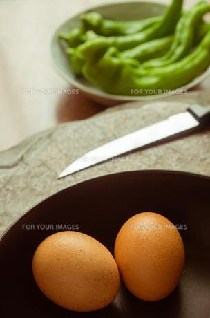 朝食の準備の写真素材 [FYI00244676]