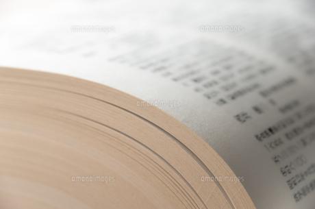 開いた本の写真素材 [FYI00244684]