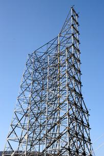 鉄塔試験場の鉄塔の写真素材 [FYI00244728]