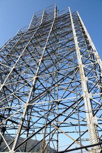 鉄塔試験場の鉄塔の写真素材 [FYI00244733]