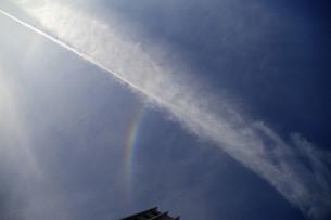 雲と虹の写真素材 [FYI00244763]