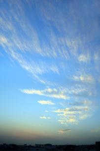 空と雲の写真素材 [FYI00244809]