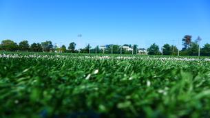 サッカーグランドの写真素材 [FYI00244855]