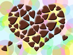 ハートのチョコレートの写真素材 [FYI00244873]