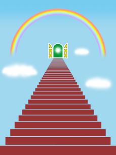 成功への階段の写真素材 [FYI00244901]