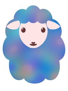 羊のイラストの写真素材 [FYI00244931]