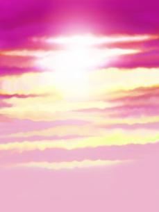 輝く空の写真素材 [FYI00244938]