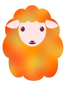羊のイラストの写真素材 [FYI00244947]