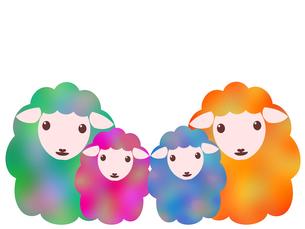 羊のイラストの写真素材 [FYI00244948]