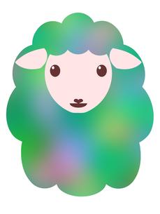 羊のイラストの写真素材 [FYI00244953]