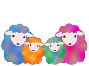 羊のイラストの写真素材 [FYI00244959]