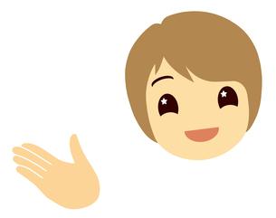 女性の顔の写真素材 [FYI00245112]