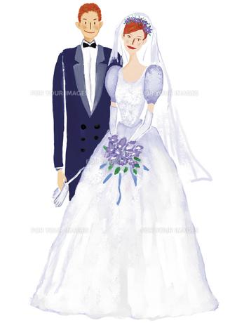 結婚式のカップルの写真素材 [FYI00245530]