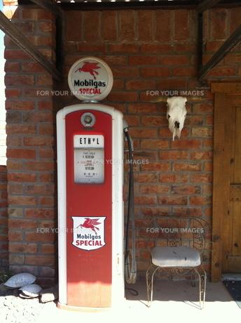 gas station の写真素材 [FYI00245547]