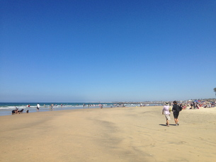 newport beachの写真素材 [FYI00245549]