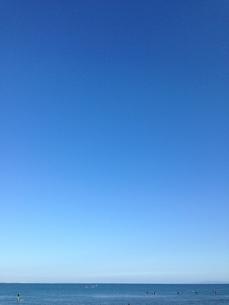 blue sky& blue oceanの素材 [FYI00245579]