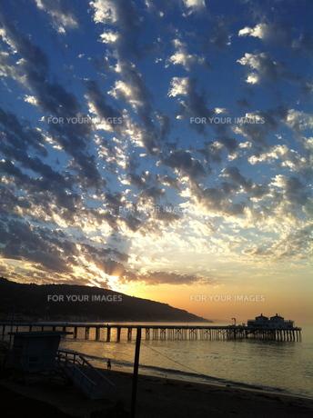sky & sunriseの写真素材 [FYI00245585]