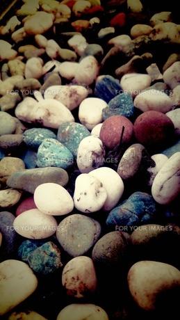 カラフルな石の素材 [FYI00245596]