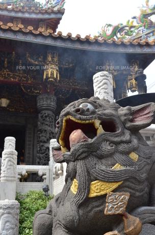横浜中華街・関帝廟(かんていびょう)の素材 [FYI00245627]