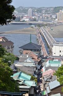 江の島からの一望の写真素材 [FYI00245632]