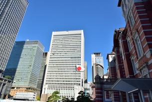 東京駅丸の内口の写真素材 [FYI00245658]