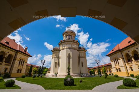 アルバ・ユリアの聖堂の写真素材 [FYI00245981]