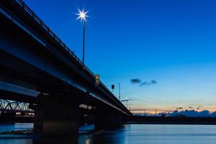 天竜川の橋 の素材 [FYI00245991]