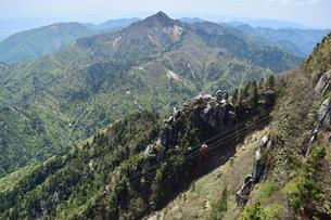 奇形岩〜大黒岩、鎌ヶ岳の写真素材 [FYI00246022]